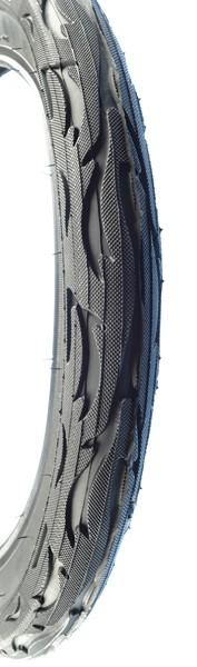 Покрышка KENDA K-1008A FLAME BK 22TPI (16х2,125)