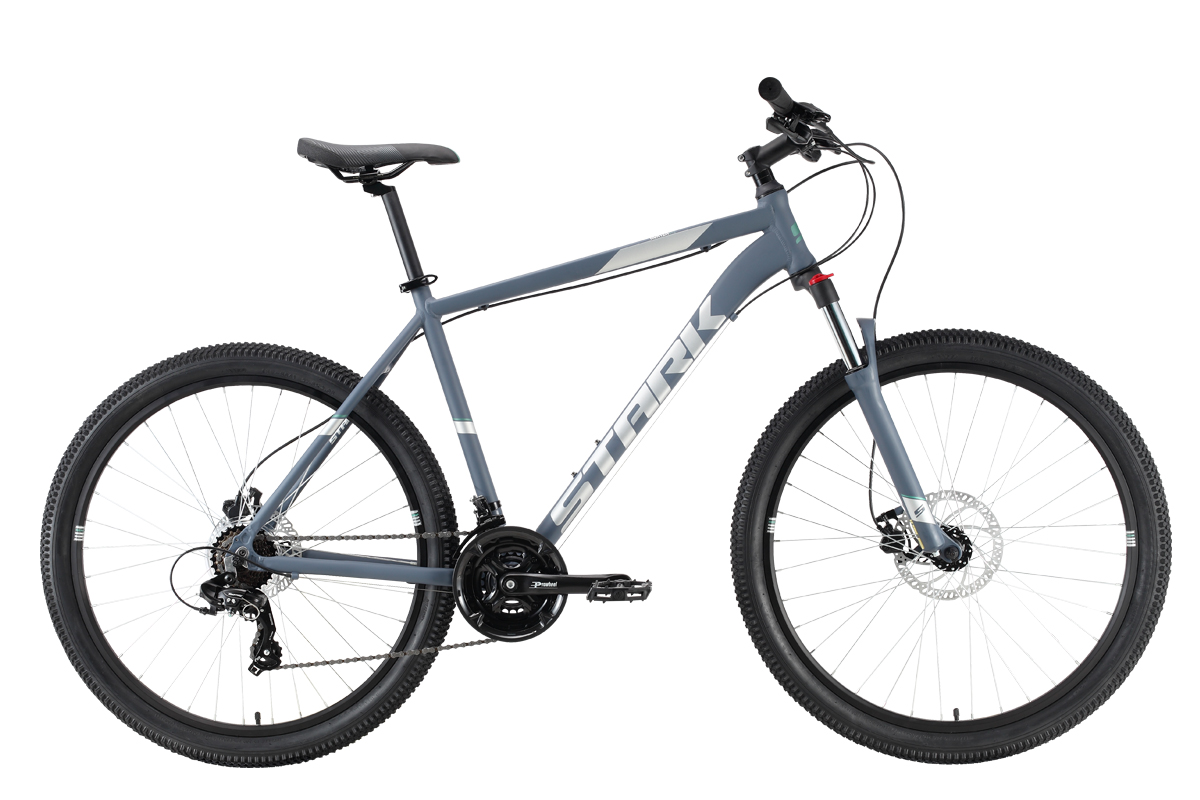 Велосипед Stark'21 Hunter 27.2 HD серый/серый 16