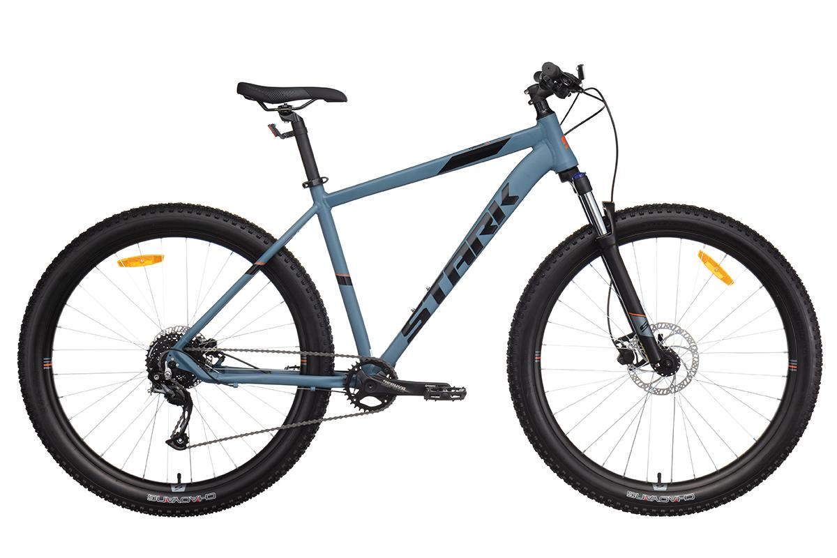 Велосипед Stark'21 Funriser 29.4+ HD серый/оранжевый 18