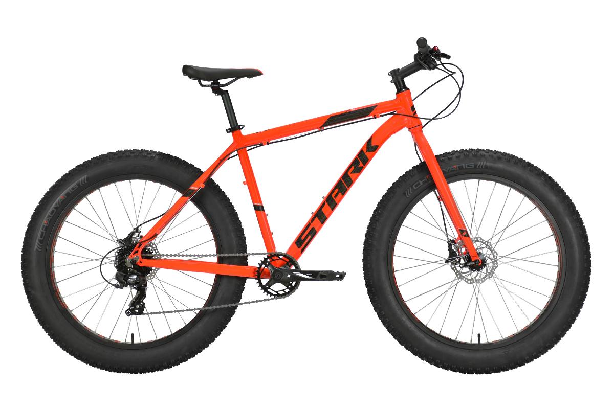 Велосипед Stark'21 Fat 26.2 HD красный/черный 16