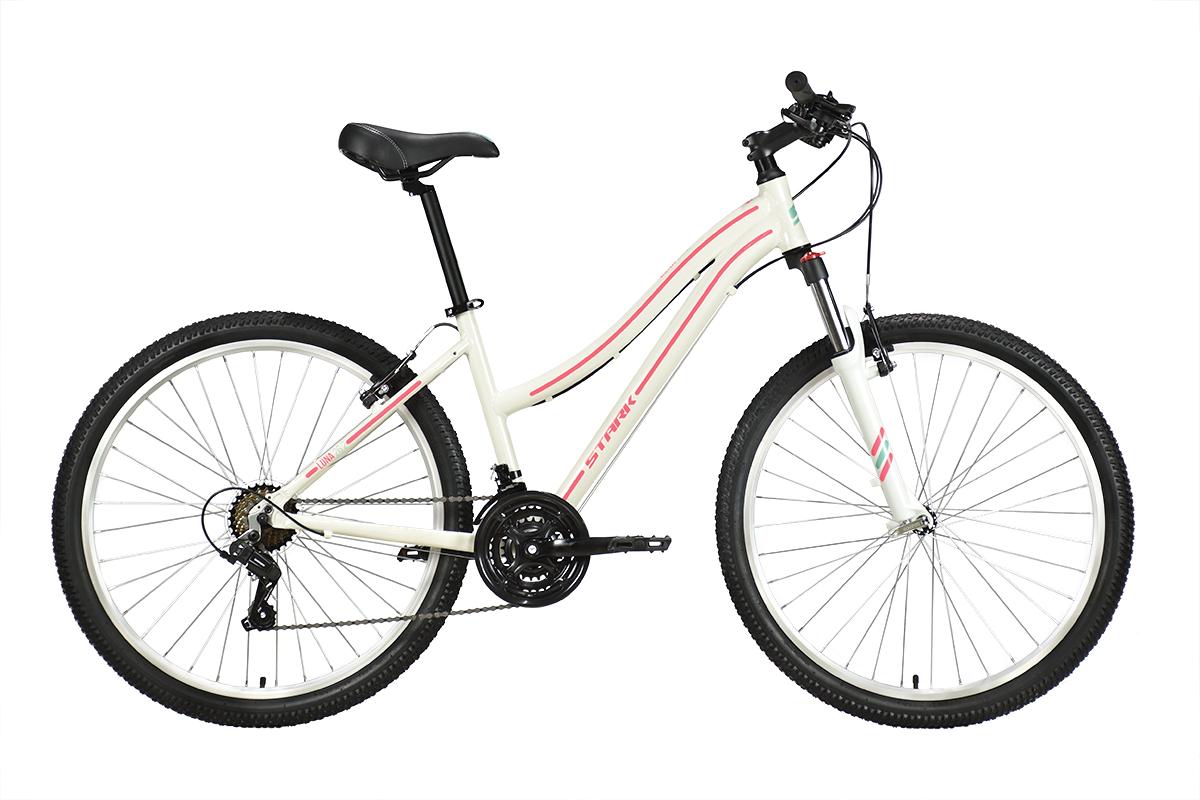 Велосипед Stark'21 Luna 26.2 V белый/розовый 14