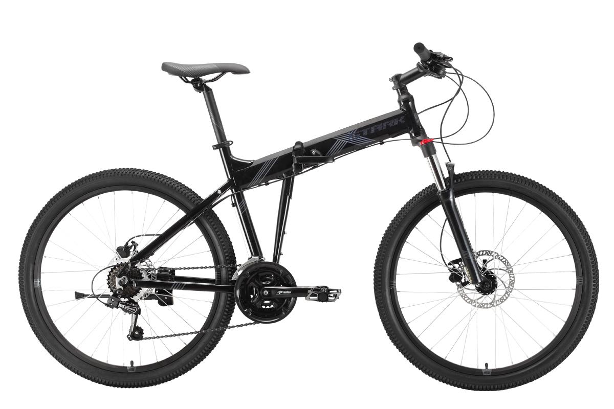 Велосипед Stark'21 Cobra 26.2 HD чёрный/черный 18