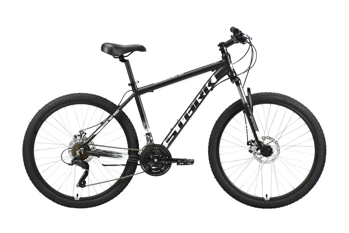 Велосипед Stark'21 Indy 26.1 D Microshift черный/серый 16