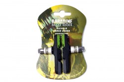 Колодки тормозные Baradine 960V МТВ 72мм зелено-черно-серые