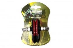 Колодки тормозные Baradine 959V МТВ 72мм черно-красные