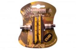 Колодки тормозные Baradine 945V МТВ 72мм желто-черные