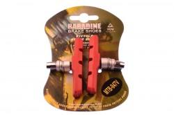 Колодки тормозные Baradine 947V МТВ 70мм