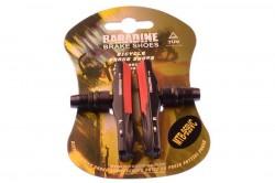 Колодки тормозные Baradine 959VC МТВ 72мм картриджные